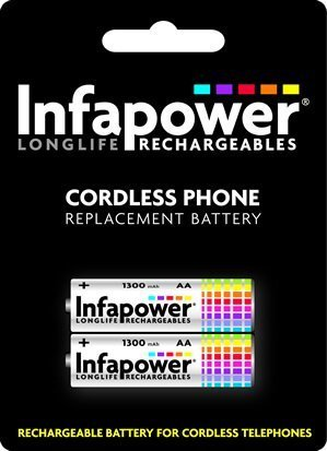 Buy Infapower T003 12 AA Cordless Phone Batteries