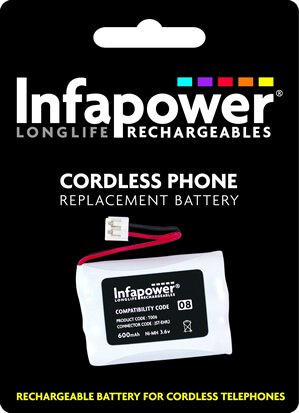 Cordless Phone Battery Infapower T006 08