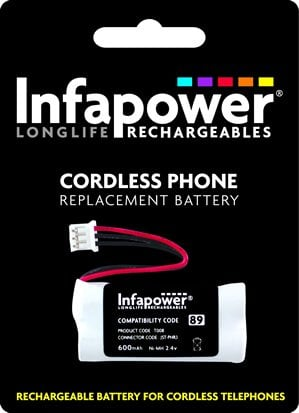 Infapower T008 89 Cordless Phone Battery