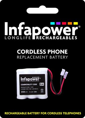 Buy Infapower T009 84 cordless phone battery