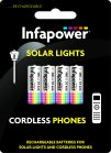 Infapower 2/3 AAA Solar light and Phone Batteries