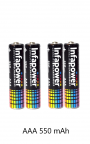 Infapower AAA 550mAh Phone Handset Batteries