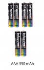 Infapower 550mAh Cordless Phone Batteries x 6